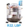 низкотемпературный холодильный компрессор Embraco Aspera, R22